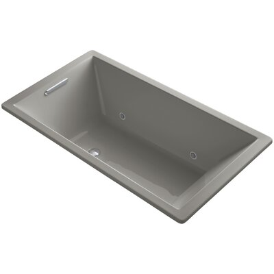 Underscore 66 x 36 Soaking Bathtub Finish: Cashmere