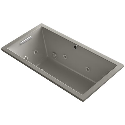 Underscore 60 x 32 Air / Whirlpool Bathtub Finish: Cashmere