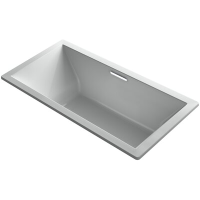 Underscore 72 x 36 Soaking Bathtub Finish: Ice Grey