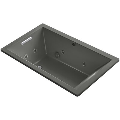 Underscore 60 x 36 Air / Whirlpool Bathtub Finish: Thunder Grey