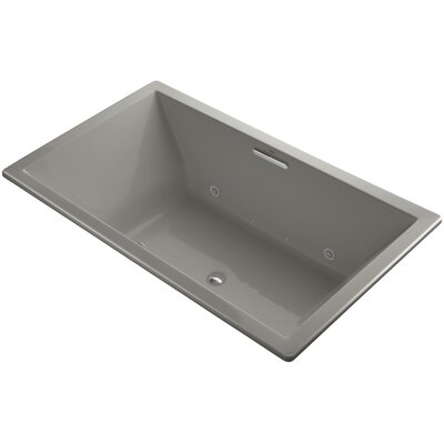 Underscore 72 x 42 Air Bathtub Finish: Cashmere