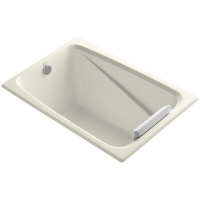 Greek 48 x 32 Soaking Bathtub Finish: Biscuit