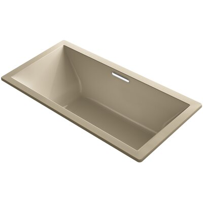 Underscore Vibracoustic 72 x 36 Soaking Bathtub Finish: Mexican Sand