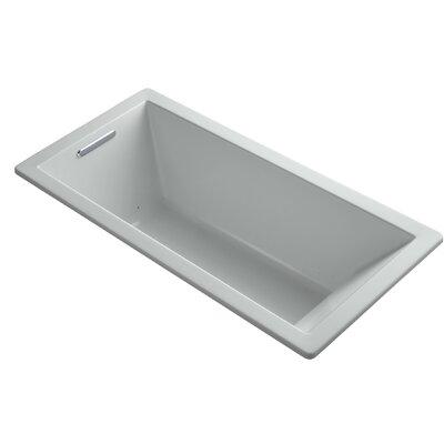 Underscore 66 x 32 Air Bathtub Finish: Ice Grey