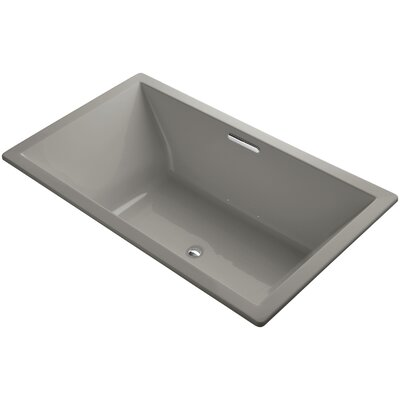 Underscore Vibracoustic 72 x 42 Soaking Bathtub Finish: Cashmere