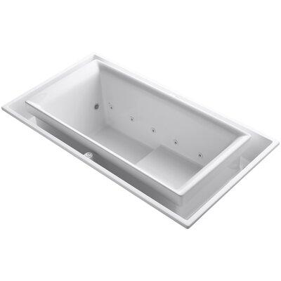 Sok 75 x 41 Air / Whirlpool Bathtub Finish: White