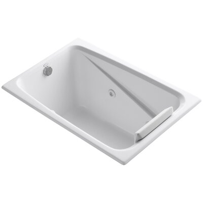 Greek 48 x 32 Whirlpool Bathtub Finish: White