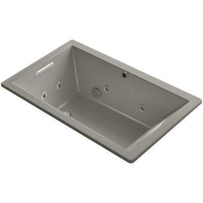 Underscore 60 x 36 Air / Whirlpool Bathtub Finish: Cashmere
