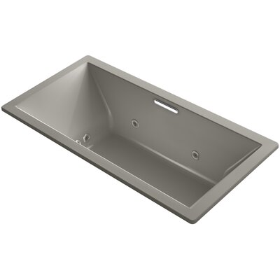 Underscore 72 x 36 Air / Whirlpool Bathtub Finish: Cashmere