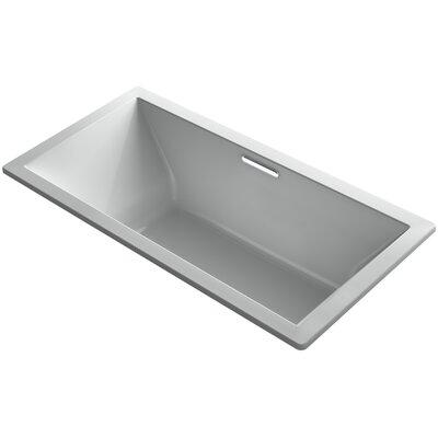 Underscore Vibracoustic 72 x 36 Soaking Bathtub Finish: Ice Grey