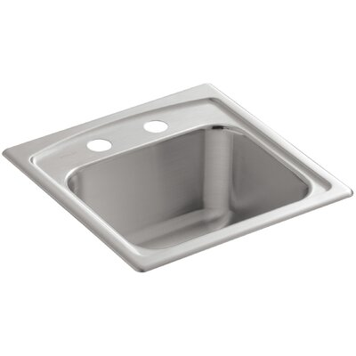 Toccata Top-Mount Bar Sink with 2 Faucet Holes