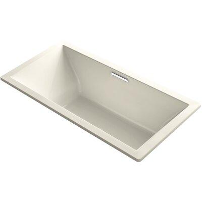 Underscore Vibracoustic 72 x 36 Soaking Bathtub Finish: Almond