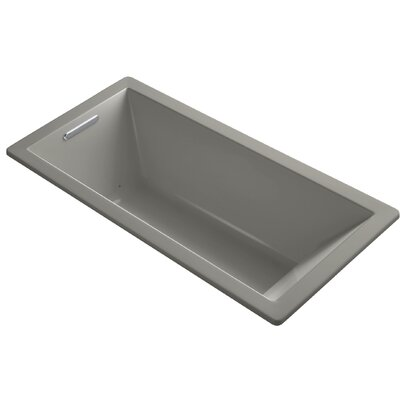 Underscore 66 x 32 Air Bathtub Finish: Cashmere