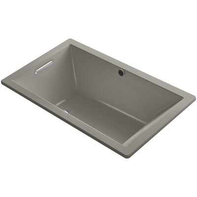 Underscore 60 x 36 Soaking Bathtub Finish: Cashmere