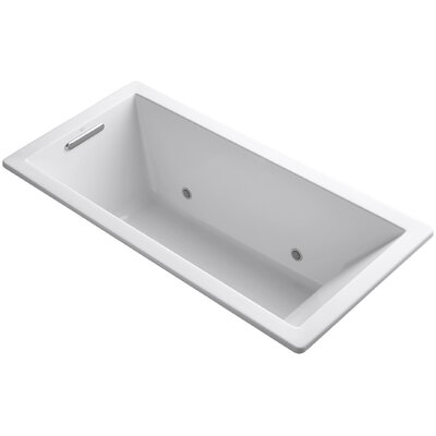 Underscore 66 x 32 Soaking Bathtub Finish: White