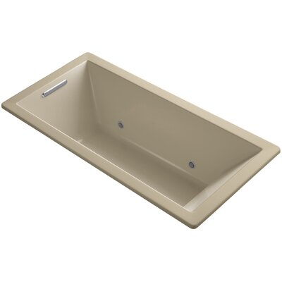 Underscore Vibracoustic 66 x 32 Whirpool Bathtub Finish: Mexican Sand