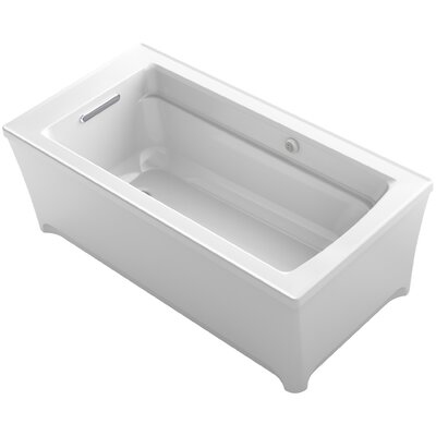 Archer 62 x 32 Soaking Bathtub Finish: White