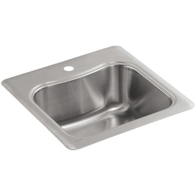 Staccato Top-Mount Single-Bowl Bar Sink with Single Faucet Hole