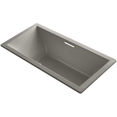 Underscore 72 x 36 Soaking Bathtub Finish: Cashmere