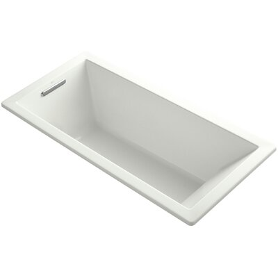 Underscore Vibracoustic 66 x 32 Soaking Bathtub Finish: Dune