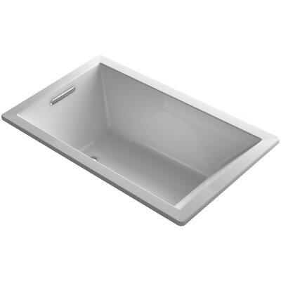Underscore 60 x 36 Air Bathtub Finish: Ice Grey