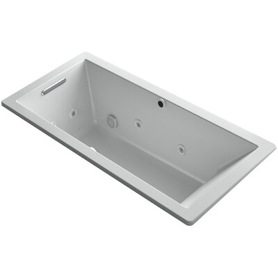 Underscore 66 x 32 Air / Whirlpool Bathtub Finish: Ice Grey