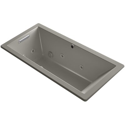 Underscore 66 x 32 Air / Whirlpool Bathtub Finish: Cashmere