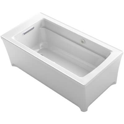 Archer 62 x 32 Air Bathtub Finish: White