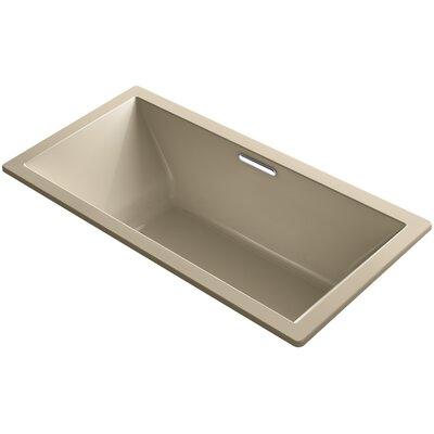 Underscore 72 x 36 Air Bathtub Finish: Mexican Sand