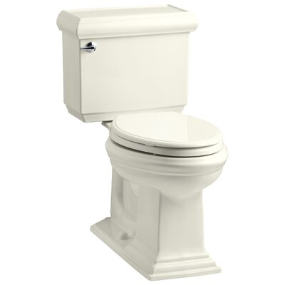 Memoirs Classic Comfort Height Two Piece Elongated 1.6 GPF Toilet with Aquapiston Flush Technology and Left-Hand Trip Lever Finish: Biscuit