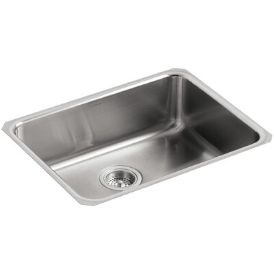 Undertone 23 x 17-1/2 x 7-5/8 Extra-Large Squared Under-Mount Single-Bowl Kitchen Sink