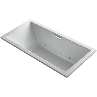 Underscore 72 x 36 Air Bathtub Finish: Cashmere