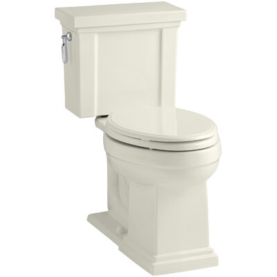 Tresham Comfort Height 1.28 GPF Elongated Two-Piece Toilet Finish: Biscuit