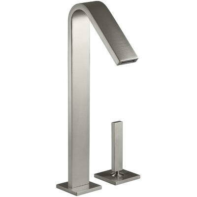 Loure Single-Handle Bathroom Sink Faucet Finish: Vibrant Brushed Nickel