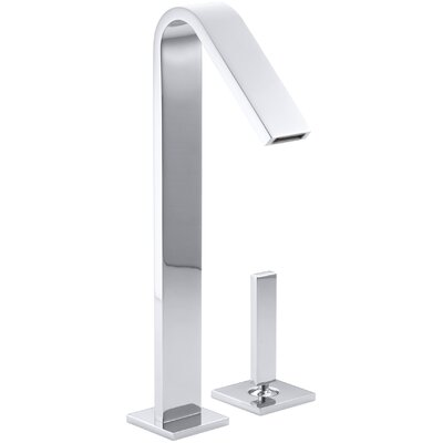 Loure Single-Handle Bathroom Sink Faucet Finish: Polished Chrome