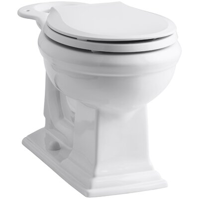 Memoirs Comfort Height Round-Front Bowl Finish: White