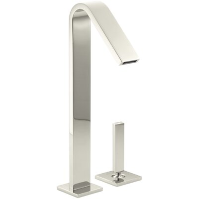 Loure Single-Handle Bathroom Sink Faucet Finish: Vibrant Polished Nickel