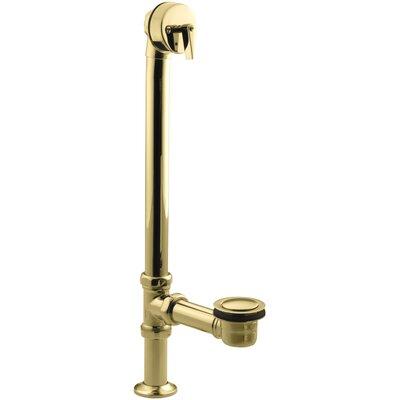 Vintage 3.25 Leg Tub Bathroom Sink Drain Finish: Vibrant Polished Brass