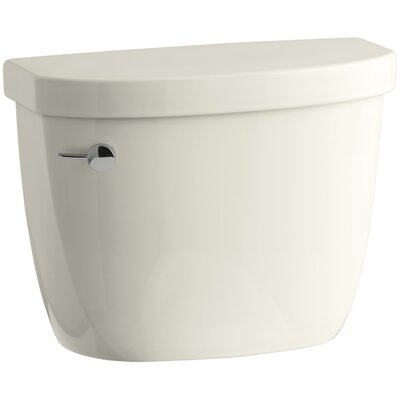 Cimarron 1.28 GPF High Efficiency Toilet Tank with Aquapiston Flush Technology and Insuliner Tank Liner Finish: Biscuit