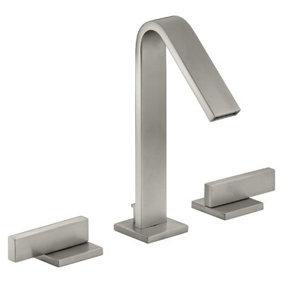 Loure Widespread Bathroom Sink Faucet Finish: Vibrant Brushed Nickel
