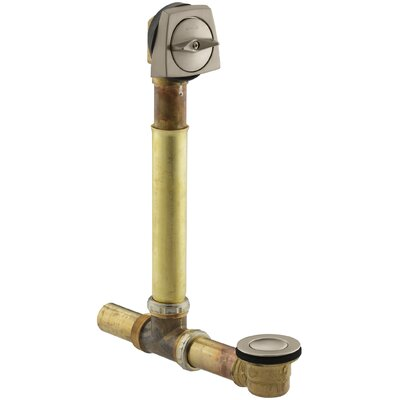 Clearflo 1-1/2 Adjustable 3.69 Trip Lever Bathroom Sink Drain Finish: Vibrant Brushed Bronze