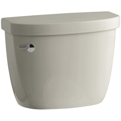Cimarron 1.28 GPF High Efficiency Toilet Tank with Aquapiston Flush Technology and Insuliner Tank Liner Finish: Sandbar