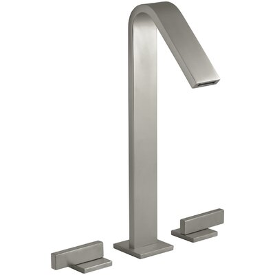 Loure Tall Widespread Bathroom Sink Faucet Finish: Vibrant Brushed Nickel
