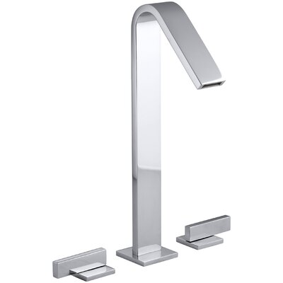 Loure Tall Widespread Bathroom Sink Faucet Finish: Polished Chrome
