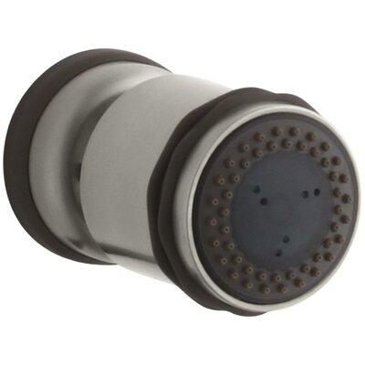Mastershower Round Adjustable Body Spray Finish: Vibrant Brushed Nickel K-8510-BN