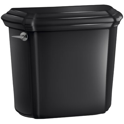 Portrait Toilet Tank with Insuliner Tank Liner Finish: Black Black