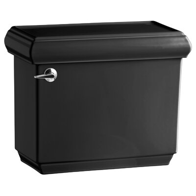 Memoirs Classic 1.28 GPF Tank with Insuliner Tank Liner Finish: Black Black