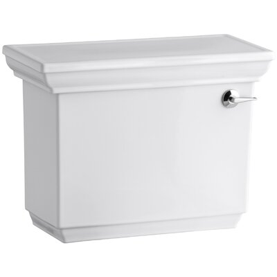 Memoirs Stately 1.28 GPF Tank with Right-Hand Trip Lever Finish: White