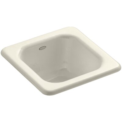 Addison Top-Mount Bar Sink Finish: Almond