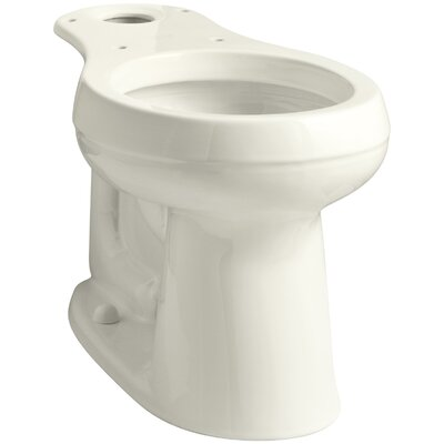 Cimarron Comfort Height Round Toilet Bowl Finish: Biscuit